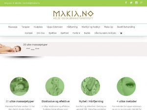 Makia - professional beauty salon in Oslo
